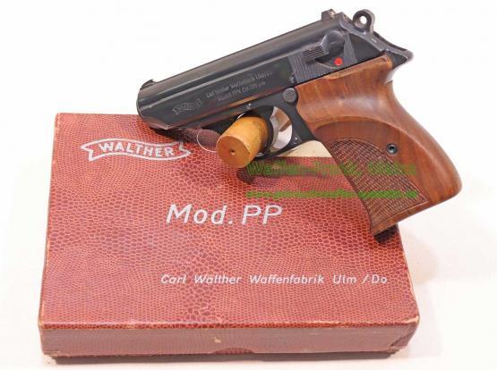 Walther - Ulm Pistole Mod. PPK / Stahl