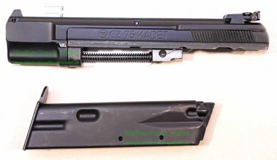CZ Brünner - CSSR Wechselsystem - CZ 75 Kadett