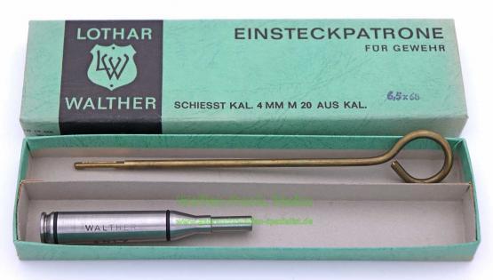 Lothar Walther Einsteckpatrone für Geweh
